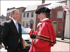 Squire Frederick and Martin O'Malley