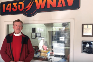 Squire Frederick at WNAV