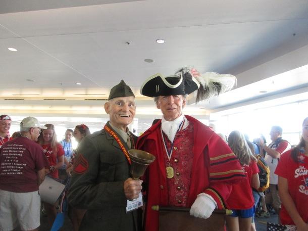 IMG_1986 Honor Flight veteran