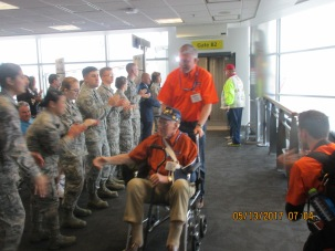 IMG_2950 Honor Flight Arrives BWI